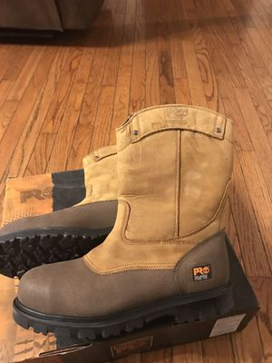 Steel toe safety shoes size 12 for Sale in Peoria, IL