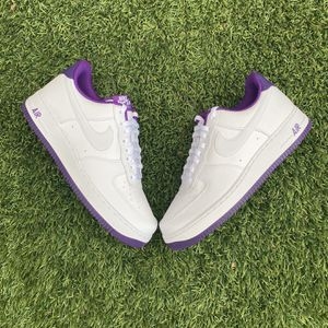 Nike Air Force 1 Purple And White Size 10 And 11 AVAILABLE for Sale in Henderson, NV