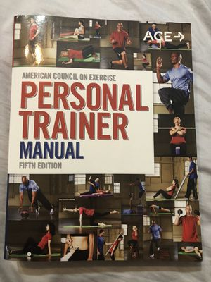 Ace Personal Trainer 5th edition for Sale in Falls Church, VA