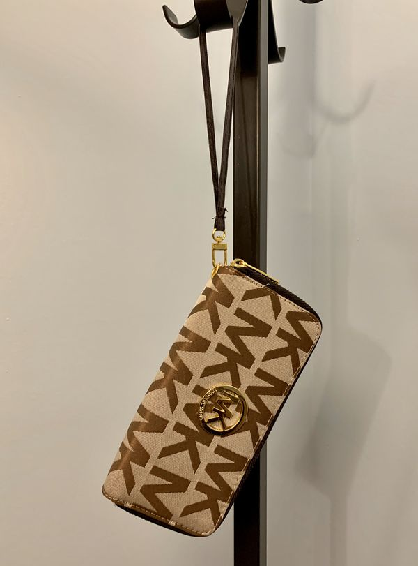 Michael Kors (MK) Monogram Khaki Wallet