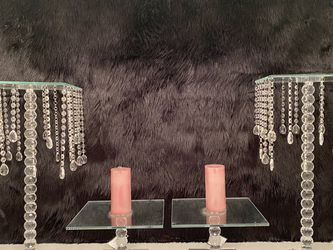 Crystal Mirror Desert Cake Stands for Sale in Fort Worth,  TX
