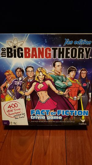 Big Bang Theory Board Game for Sale in Whittier, CA