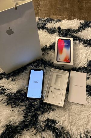 IPhone X 64Gb Unlocked for Sale in White Hall, AR
