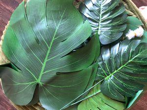 Pack of fake leaves. Monstera. Decor. for Sale in Las Vegas, NV