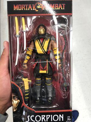 Mortal Kombat Scorpion Action Figure for Sale in Cypress, CA