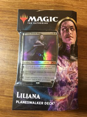 Magic Core Set 2021 Liliana Planeswalker Deck new and sealed for Sale in Columbus, OH
