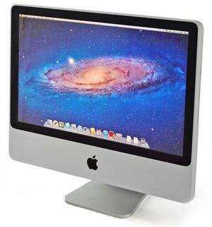 Apple iMac A1224 Core 2 Duo All in One Desktop Computer WiFi DVDRW Webcam HDMI 20.5 inches Screen 100% Tested for Sale in Brooklyn, NY