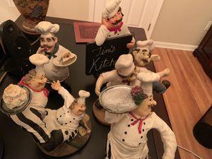 Italian chef statue figurines for Sale in Atlantic Highlands, NJ