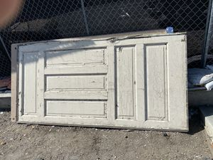 Vintage solid wood antique door. for Sale in Whittier, CA