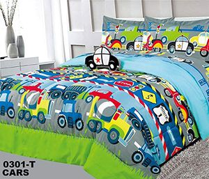KIDS PRINTED COMFORTER SET WITH TOY (HAVE TWIN FOR 30) for Sale in Dallas, TX