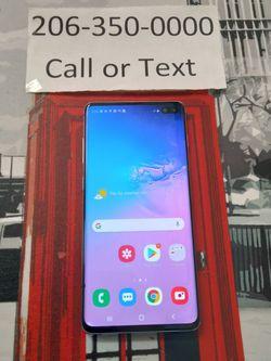 Unlocked samsung Galaxy S10 for Sale in Shoreline,  WA