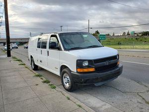 04 Chevrolet Express 3500 Extended cargo van for Sale in Hayward, CA