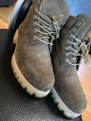 "Timberland boots ""olive green"" for Sale in Pinole, CA"