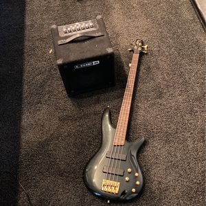 Ibanez Sound Gear Bass And Line 6 Amp for Sale in Irving, TX