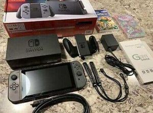 4 game lot with Nintendo switch and extras for Sale in St. Petersburg, FL
