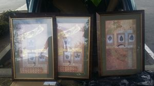 Nice fall picture frames. Set of 4. for Sale in Fresno, CA