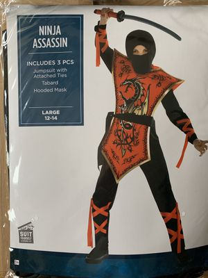Ninja Assassin Halloween Costume for Kids for Sale in Austell, GA