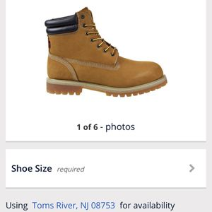 Levi's Work Boots Size 11 for Sale in Philadelphia, PA