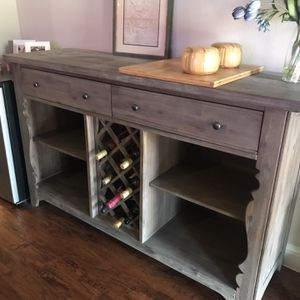 Cabinet with wine rack and self-close door for Sale in Plano, TX