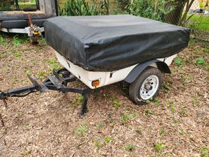 Camper trailer motorcycle for Sale in Tampa, FL