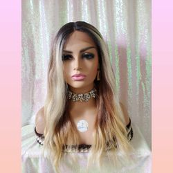 Lace Front Mix Color Wig for Sale in Clifton Heights,  PA