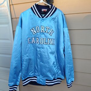$125 Local Pickup Only. Mitchell & Ness 1982 North Carolina Tar Heels College Vault Jacket Size 3XL Very Rare for Sale in Norcross, GA