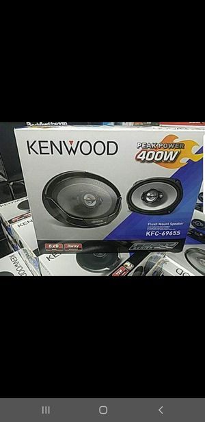 Kenwood 6x9 inch car speakers for Sale in Chula Vista, CA