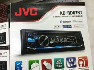 JVC - kid- rd87bt for Sale in Dallas, TX