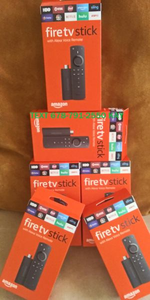 Latest Amazon Fire TV Stick for Sale in Atlanta, GA