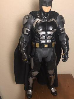 DC Justice League Batman 19 Inch Jakks Big-Figs Action Figure Tactical Suit for Sale in Phoenix,  AZ