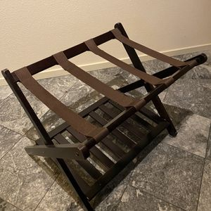 Luggage Rack with Shelf for Sale in Seattle, WA