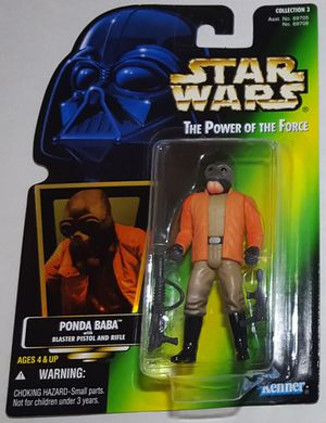 Star Wars Power Of The Force Ponda Baba Action Figure for Sale in Tacoma, WA