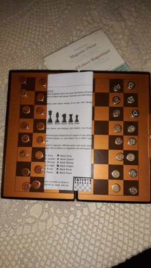Starbucks magnetic chess board game, New! for Sale in Otis Orchards, WA