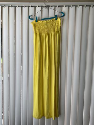 Strapless Yellow Dress for Sale in Dallas, TX