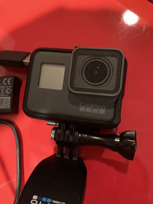 GoPro Hero 5 with extra battery, mount and case. for Sale in Union, NJ