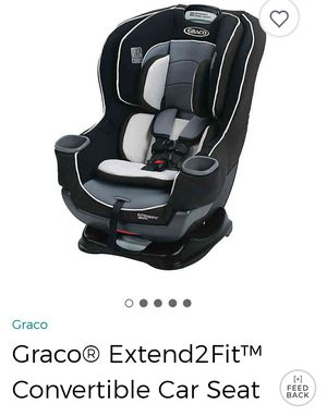 Graco® Extend2Fit™ Convertible Car Seat for Sale in Troy, MI