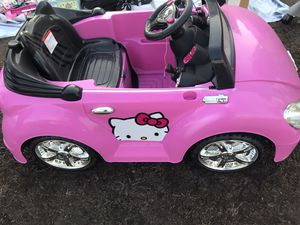 HELLO KITTY car for Sale in San Diego, CA