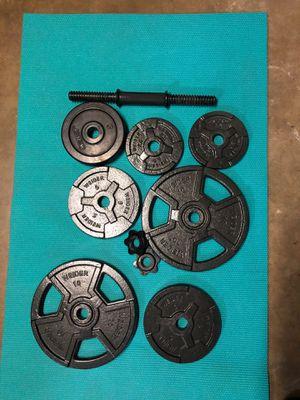 Standard weights $40 lb $90 for Sale in La Puente, CA