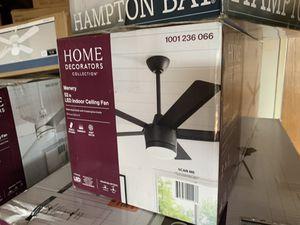 Ceiling fan matte black for Sale in Modesto, CA
