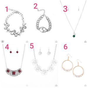 Paparazzi ACCESSORIES jewelry 35 piece for Sale in Pasadena, TX