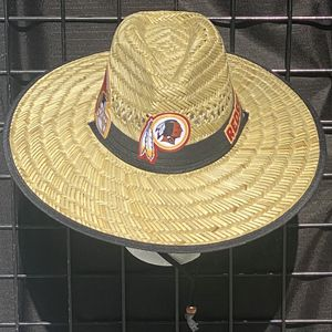 Washington Redskins straw hat (Great Gift 🎁) Same Day Shipping If Paid By 3pm (I Also Have Other Team's) for Sale in North Las Vegas, NV