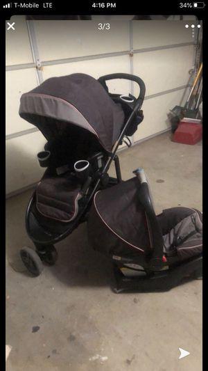 Graco car seat adn stroller set for Sale in Perris, CA