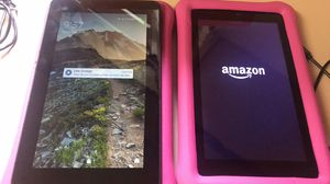 """Amazon Fire 7"""" Kids Tablets $50 each for Sale in Tallahassee, FL"""