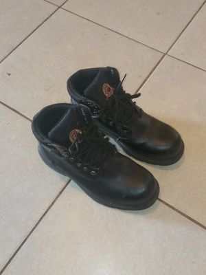 Steel toe work boots size 10 in men's for Sale in Fresno, CA