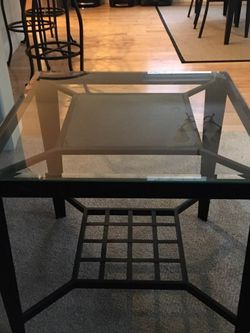 Lg Pair Modern Accent Tables w/Stone Accent for Sale in Portland,  OR