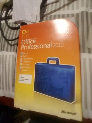 Microsoft Office Suite Software w/License for Sale in Silver Springs, FL
