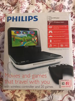 PHILIPS portable DVD player for Sale in Sacramento, CA