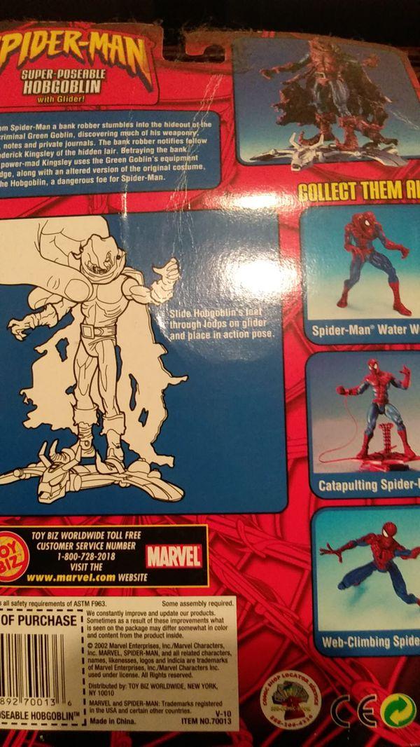 Spider-Man - Hobgoblin - ToyBiz