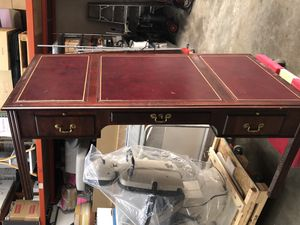 Jofco Executive Desk leather inlay for Sale in South San Francisco, CA