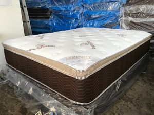 Ultra Plush Serenity Pillow Top Mattress and Boxspring! for Sale in Huntington Beach, CA